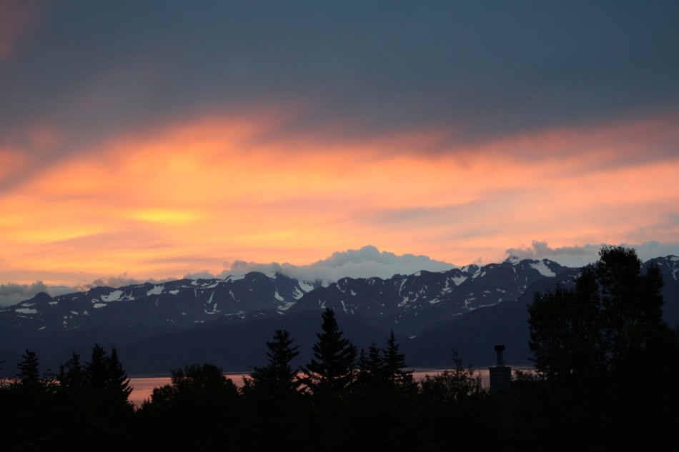 Sunrise in Homer