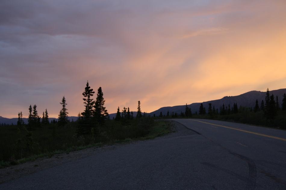 Sunset in Denali